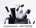 close up accessories in... | Shutterstock . vector #654735538