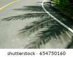 sunlight causes the stem and... | Shutterstock . vector #654750160