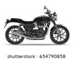 Motorcycle Vector  Realistic...
