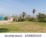sea coast and the view of the... | Shutterstock . vector #654800104