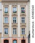 facade of a building with... | Shutterstock . vector #65480260