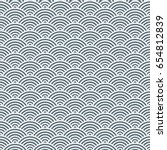 vector pattern. geometric... | Shutterstock .eps vector #654812839