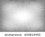 abstract halftone dotted... | Shutterstock .eps vector #654814450