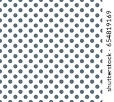 vector dot pattern. geometric... | Shutterstock .eps vector #654819169