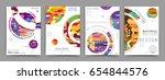 business abstract vector... | Shutterstock .eps vector #654844576