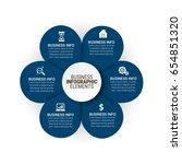 popular infographics elements | Shutterstock .eps vector #654851320