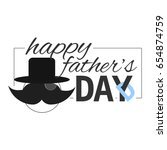 illustration for the father's... | Shutterstock .eps vector #654874759