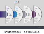 vector illustration info... | Shutterstock .eps vector #654880816
