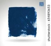 blue brush stroke and texture....   Shutterstock .eps vector #654893653