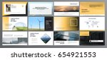 original presentation templates ... | Shutterstock .eps vector #654921553