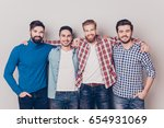 Diversity Of Men. Four Cheerfu...