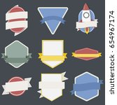 mixed set of spaceship badges...