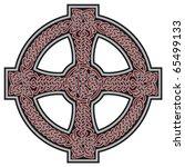 celtic cross design element | Shutterstock .eps vector #65499133