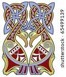 detailed celtic design element... | Shutterstock .eps vector #65499139