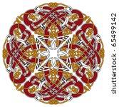 detailed celtic design element... | Shutterstock .eps vector #65499142