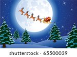 vector xmas holiday background... | Shutterstock .eps vector #65500039