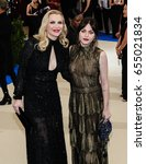 Courtney Love And Frances Bean...