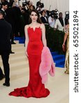 Small photo of Emma Roberts attends the 2017 Metropolitan Museum of Art Costume Institute Gala at the Metropolitan Museum of Art in New York, NY on May 1st, 2017