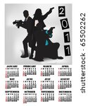 calendar for 2011 with special...   Shutterstock .eps vector #65502262