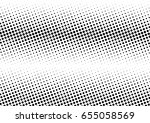 abstract halftone dotted... | Shutterstock .eps vector #655058569