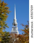 Steeple Of A Southern Baptist...