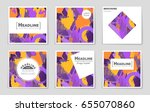 abstract vector layout...   Shutterstock .eps vector #655070860