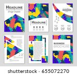 abstract vector layout... | Shutterstock .eps vector #655072270
