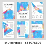 abstract vector layout... | Shutterstock .eps vector #655076803
