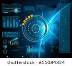 abstract future  concept vector ... | Shutterstock .eps vector #655084324