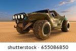3d cg rendering of a buggy car   Shutterstock . vector #655086850