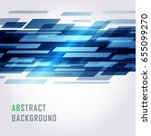 abstract geometric lines vector ... | Shutterstock .eps vector #655099270