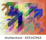 navigation texture pattern | Shutterstock .eps vector #655102963