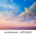 clouds skyscape wallpaper | Shutterstock . vector #65510422