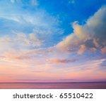 clouds skyscape wallpaper   Shutterstock . vector #65510422