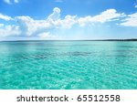 ocean and perfect sky | Shutterstock . vector #65512558