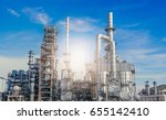 industrial zone the equipment... | Shutterstock . vector #655142410