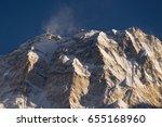 Annapurna I Mountain Peak At...