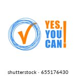 yes you can   color text on... | Shutterstock .eps vector #655176430