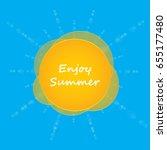 special summer background   Shutterstock . vector #655177480