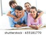 happy family    Shutterstock . vector #655181770