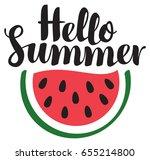 vector calligraphic black... | Shutterstock .eps vector #655214800