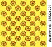 orange background vector | Shutterstock .eps vector #655226224