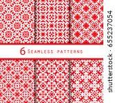 vintage pattern graphic design | Shutterstock .eps vector #655237054