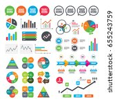 business charts. growth graph....   Shutterstock .eps vector #655243759