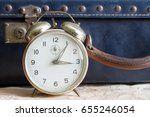 last minute travel concept with ... | Shutterstock . vector #655246054