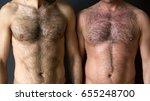 closeup of two men standing... | Shutterstock . vector #655248700