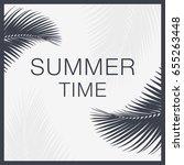 summer time lettering text....   Shutterstock .eps vector #655263448