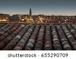 roof with a view | Shutterstock . vector #655290709