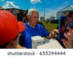 vice president mike pence ...   Shutterstock . vector #655294444