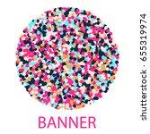 round banner | Shutterstock .eps vector #655319974